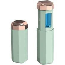 UV Disinfection Lamp Germicidal UV Lamp Ozone Lipstick Shape USB Plug Handheld Portable Ultraviolet Light Stick for Multipurpose