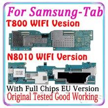 משלוח חינם מקורי עבור Samsung Galaxy הערה 10.1 N8010 האם לסמסונג גלקסי Tab S T800 היגיון לוח האיחוד האירופי גרסה MB
