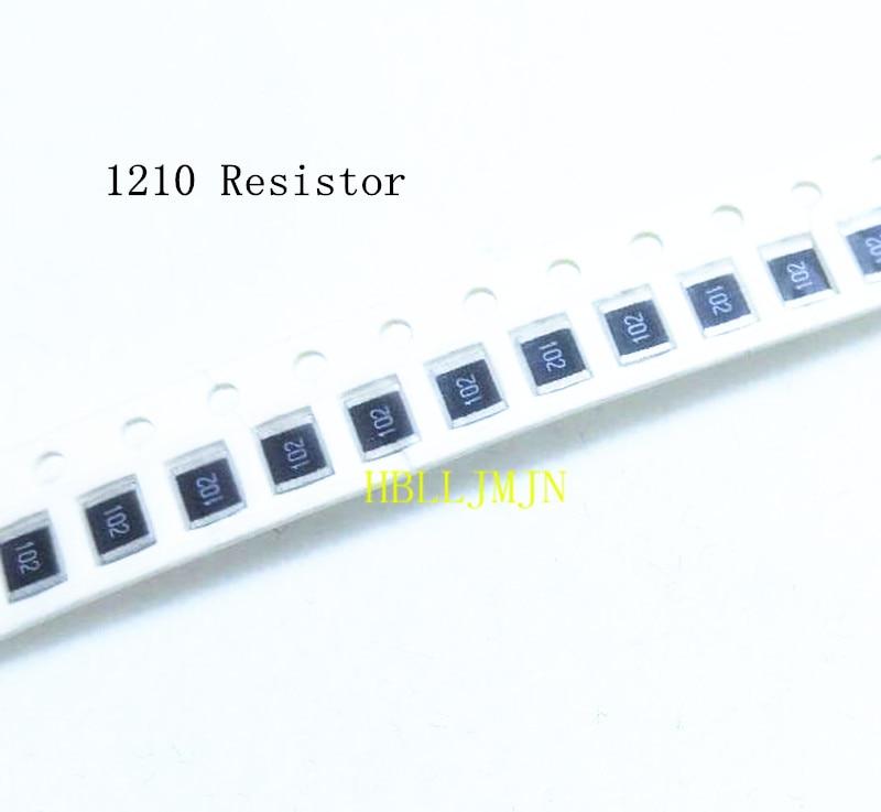 100pcs SMD Chip Surface Mount 0805 Resistor 1R 1Ω ohm 1R0 5/%