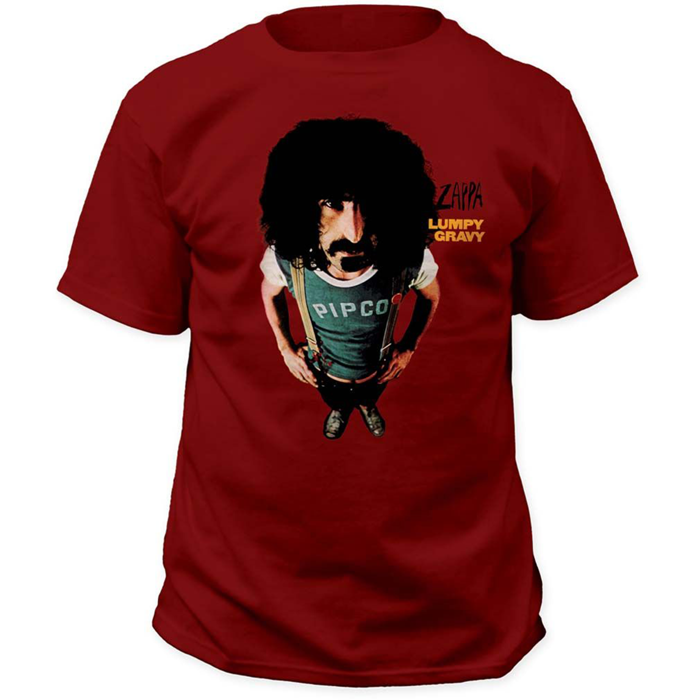 Frank Zappa Lumpy Gravy 1967 Album Cover T Shirt Sleeve Men T Shirt Fashion 100% Cotton Short Sleeves Tee Shirts Top Tee image