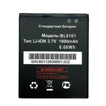 3.7V 1800mAh BL8101 BL 8101 Battery for Fly IQ455 IQ 455 mobile phone Batterij in stock