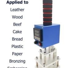 Heating-Machine Stamping-Tools Wood-Stamp Customize Bread-Logo Work Woodwoker Brand