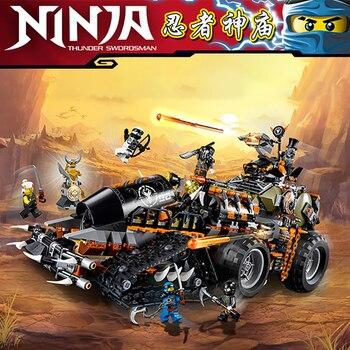 Compatible Ninja City 10939 Masters of Spinjitzu Dieselnaut Set lepinglys 70654 Kids Toys Children Building Blocks Bricks