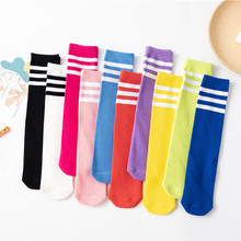 Girls Socks Baby Boys Kids Cotton Kawaii School Soft Casual for Your Leg-Warmers Knee