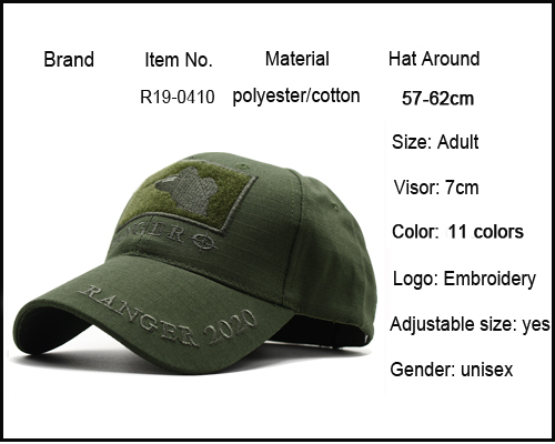 CAPSHOP MultiCam Sniper Ranger 2020 Embroidered Ball Cap Military Army Operator hat Tactical CP OD Cap with Loop for Patch 1