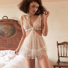 Munllure סקסי פיג מה נשים של פרספקטיבת פרחים להסרה ללא משענת מתוקה נסיכת העמודים דק רצועת כותונת סט