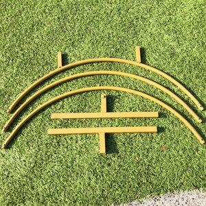 Image 5 - Fer cercle mariage arc accessoires fond décor unique étagère extérieure pelouse fleur porte support partie décoration cadre