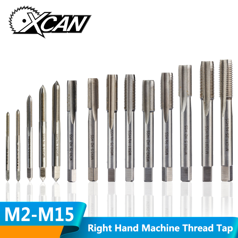 Right Thread Taper Tap Screw High Speed Steel M10*1mm For Drilling Tools Parts