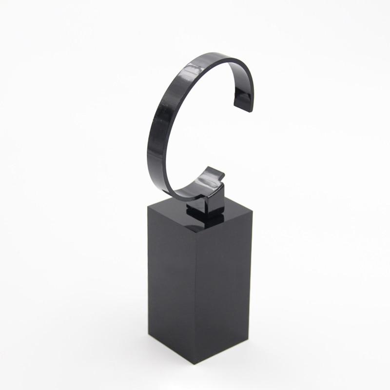 Relógio de pulso caso acrílico cubo expositor