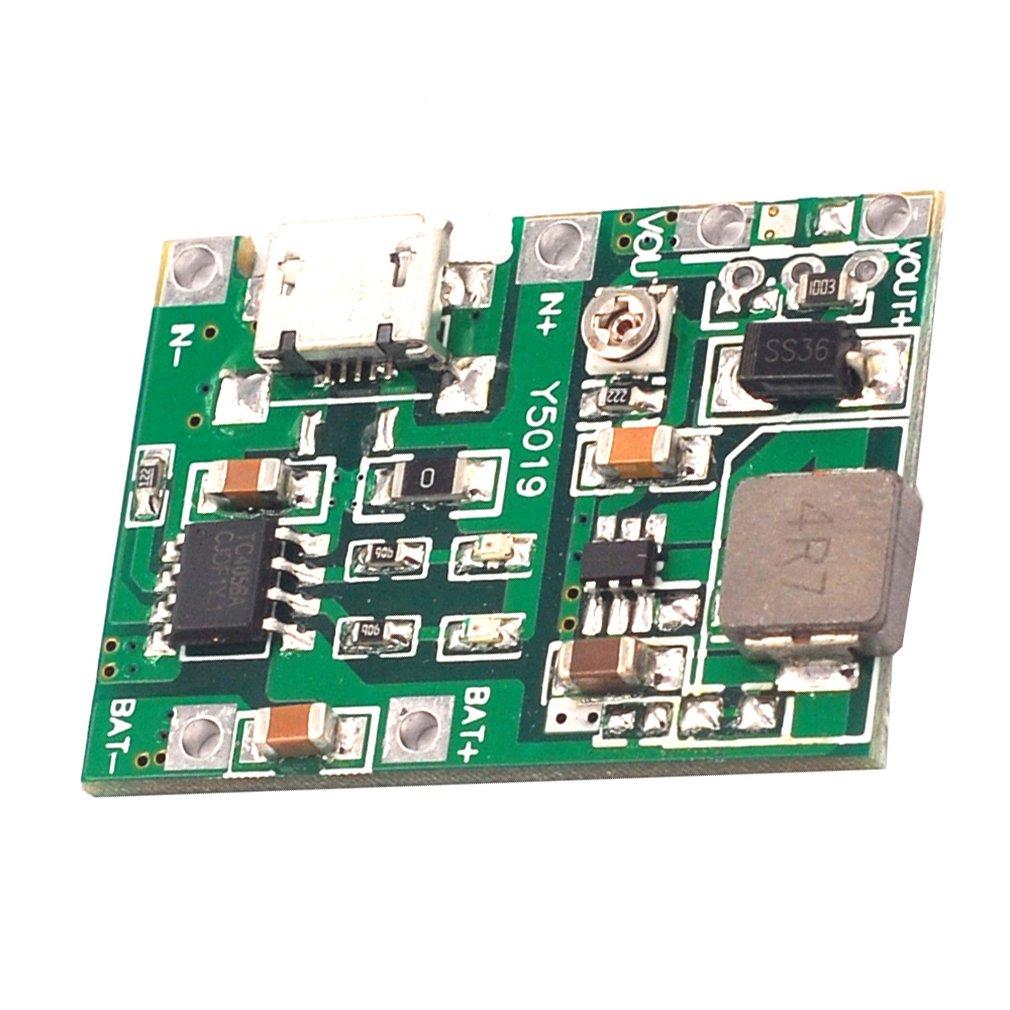 3.7V To 9V 5V Multimeter Modified 18650 Lithium Battery Charging Boost Discharge Integrated Adjustable Module 2A