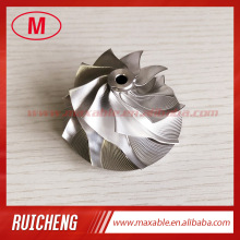 GT15-25 47.00/61.98mm 9+0 blades Turbo milling/aluminum 2618/billet compressor wheel
