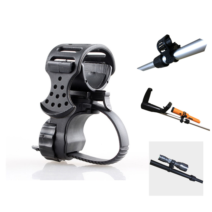 Metal Detector Flashlight Holder PIN POINTER Holder / Flashlight *MOUNT Suitable For All Kinds Of Underground Detectors