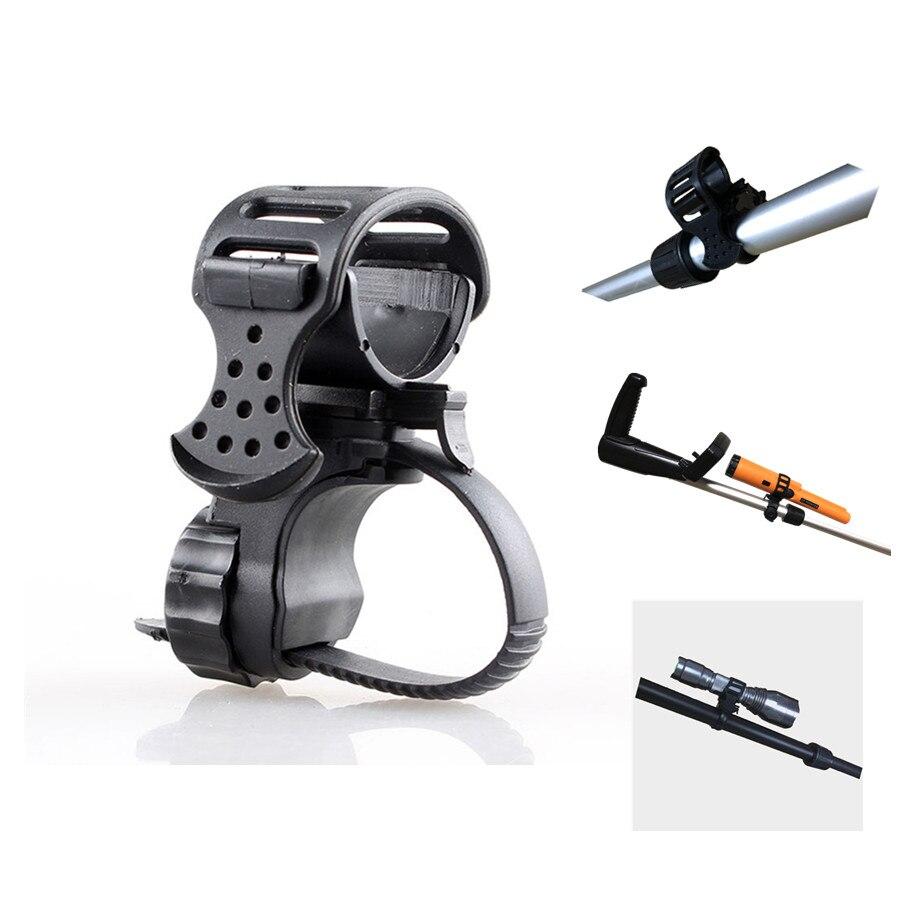 Metal Detector Flashlight Holder PIN POINTER Holder / Flashlight *MOUNT Suitable For All Kinds Of Underground Detectors