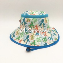Bucket-Cap Boys Kids New Polyester with Mesh-Fabrics Inserts Microfiber Sublimation-Print
