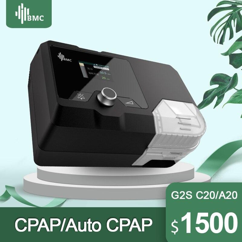 BMC nouveaux arrivants CPAP Machine G2S C20/A20 équipement médical pour le ronflement du sommeil et l'apnée avec masque et humidificateur NM4