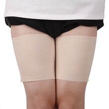 Уютный антифрикционным материалом защиты гетры размера плюс Пикантные ботфорты полосы ноги Для женщин летние гетры Для женщин лента Высок...
