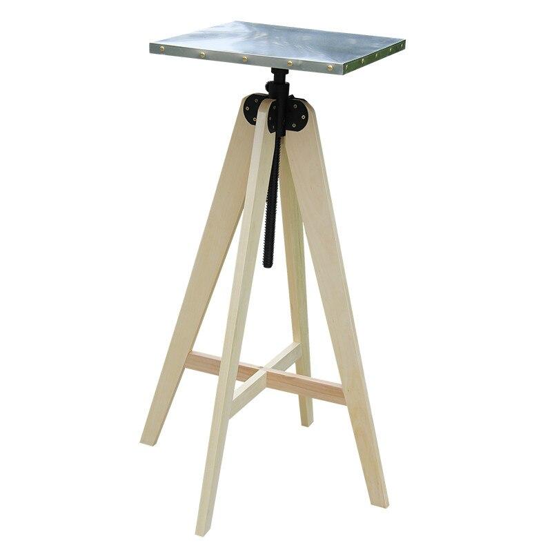 Art nature morte Tables acier inoxydable levage argile rotatif Table artiste Art nature morte peinture à l'huile Sculpture argile Art fournitures