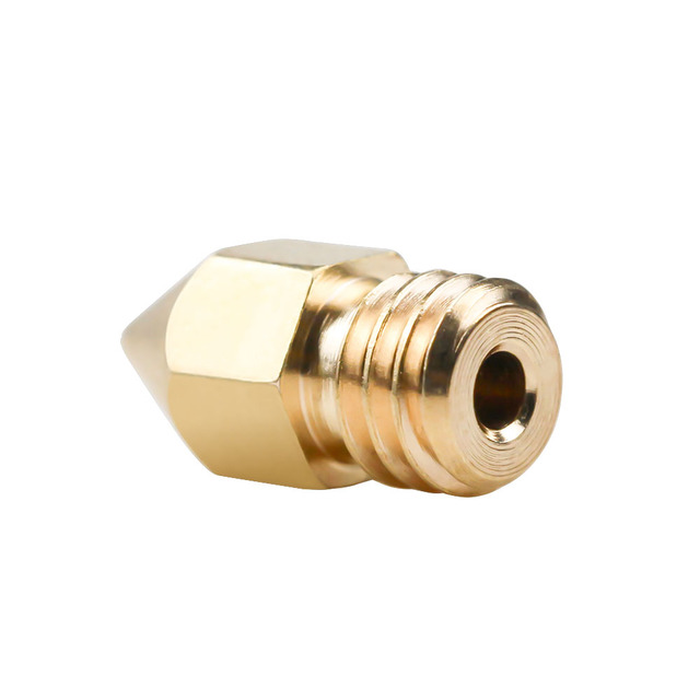 5Pcs 3D Printer Brass Copper Nozzle Mixed Sizes 0.2/0.3/0.4/0.5 Extruder Print Head For 1.75MM MK8 Makerbot 1