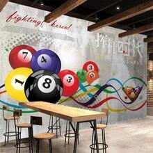 Fondo de pared de cemento para sala de billar, pared de murales de gimnasia, papel tapiz 3d, stereo, wallpaper, Mur