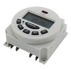 L701 CN101A 16A digitale zeit schalter wöchentlich programmierbare elektronische timer AC 220V 110V AC/DC 24V 12V