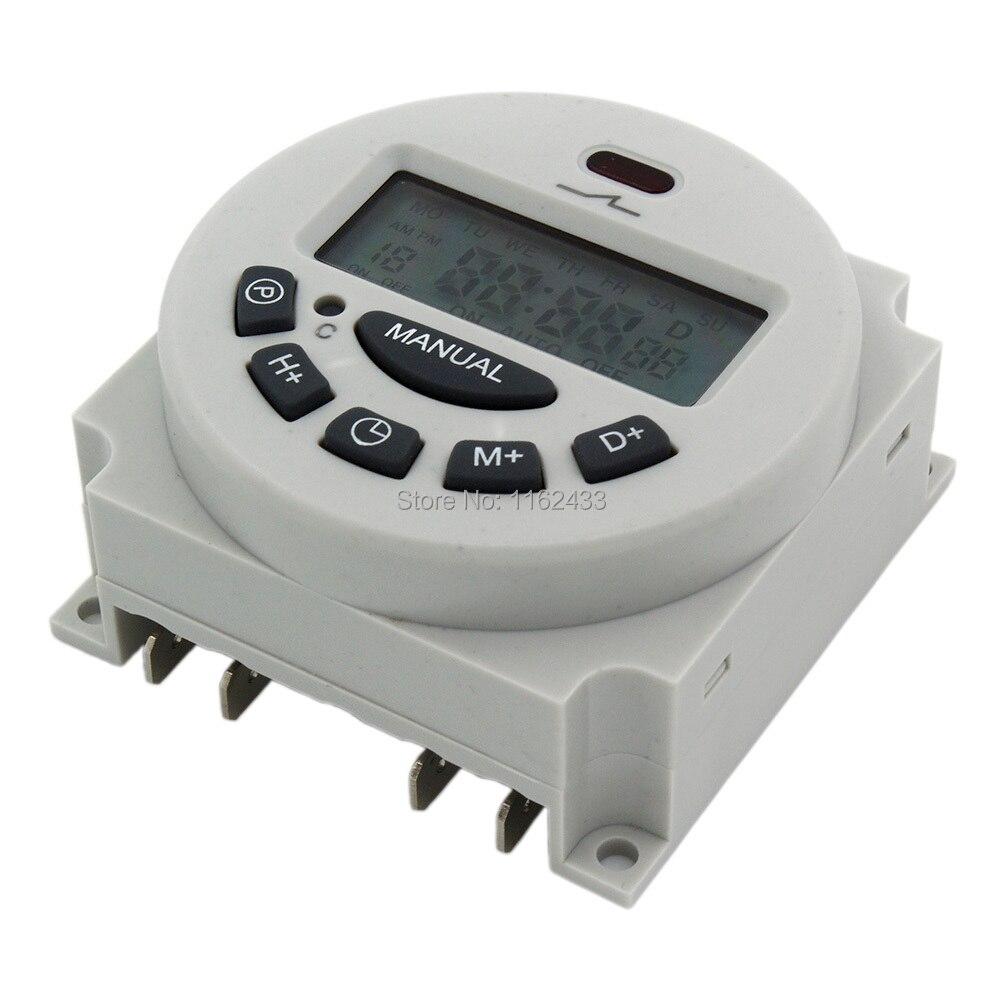L701 CN101A AC 110V 16A interruptor de tiempo digital 110VAC temporizador electrónico programable semanal 125KHz RFID duplicador copiadora escritor programador escritor ID Card Cloner & key