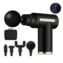 Syeosye Mini Massage Gun Deep Tissue Percussion Muscle Massager Fascial Gun Electric Body Massager For Pain Relief