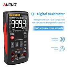 ANENG Q1 multimetro digital profesional de bancada true rms automotivo analógico multimeter capacimetro digital multímetro analógico testador de componentes eletrônicos ferramentas voltimetro frequencimetro digital