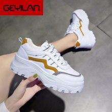 Zapatillas de deporte blancas para Mujer, calzado para deportes al aire libre, para gimnasio, para caminar, U21-44, 2020