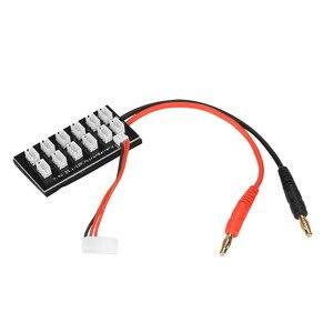 Параллельная зарядная плата 7,4 В, 2 с литий-полимерным аккумулятором, балансировочная плата с разъемом для зарядки, с разъемом для зарядки, Р...