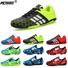 Football Shoes For Men Soccer Shoes Kids Sport Sneakers Outdoor turf profession Cleats Breathable Training Football Sneaker Kids