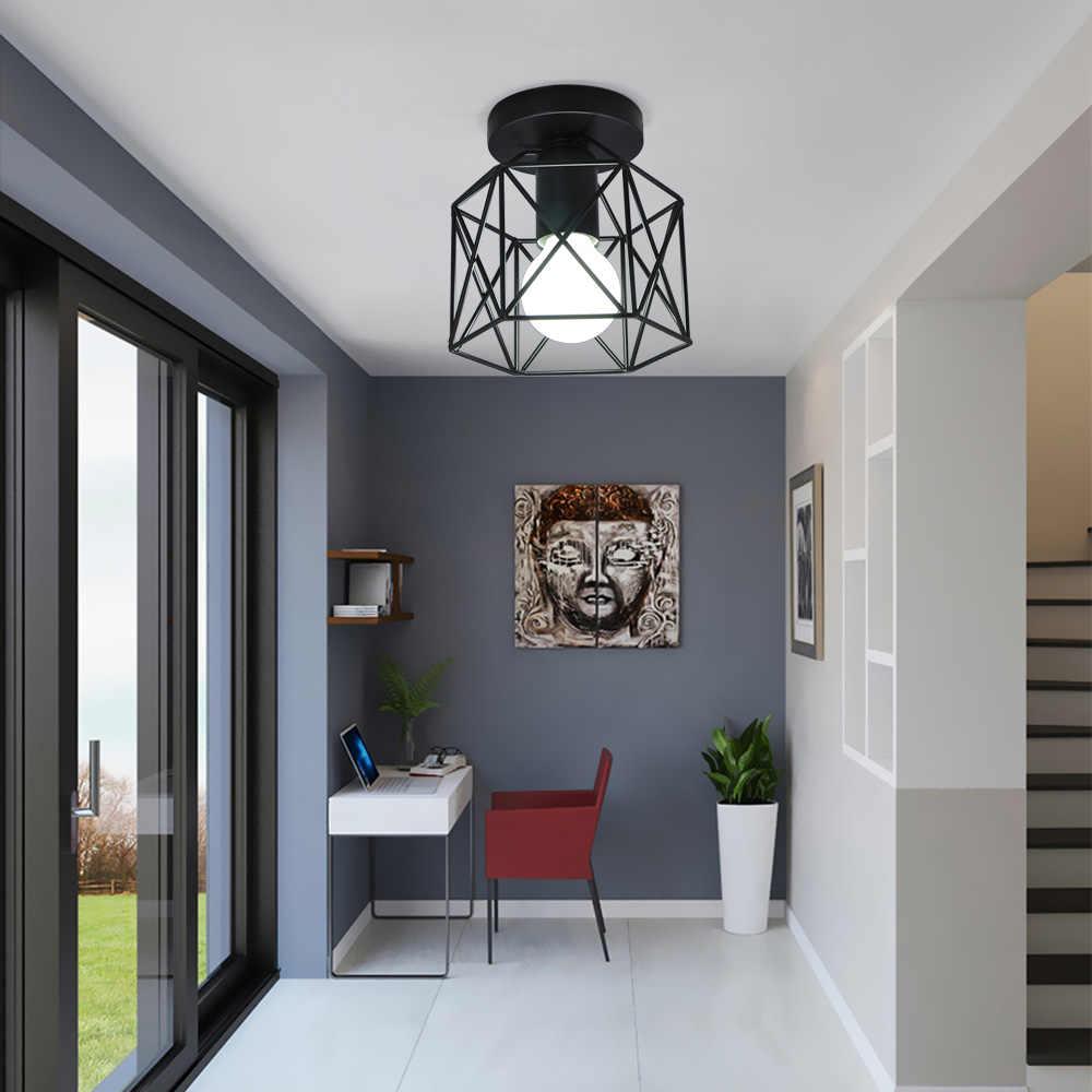 天井ランプインダストリアルヴィンテージライト器具キッチン農家廊下E27 ベース通路通路廊下玄関
