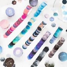 10PCS/LOT the long moon Nebula series lovely dream decorative paper masking washi tape