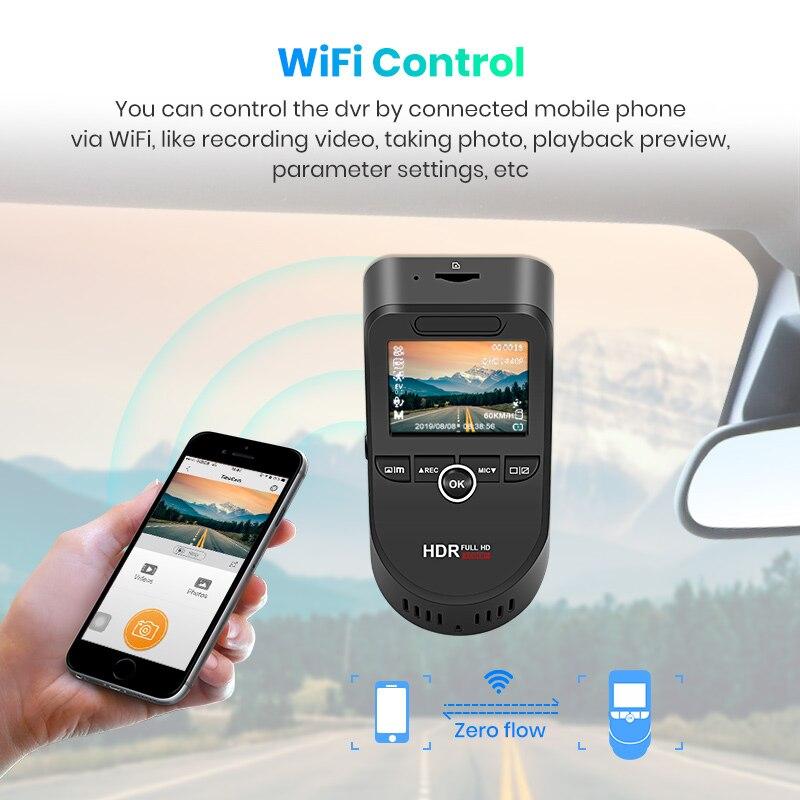 Image 5 - Junsun S590 WiFi 4K Car Dash Cam Ultra HD 2160P 60fps GPS ADAS DVR Camera Recorder Sony 323 Rear Camera 1080P Night Vision-in DVR/Dash Camera from Automobiles & Motorcycles