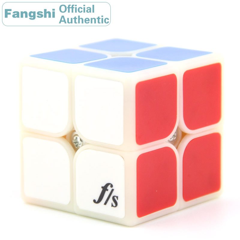Fangshi F/S Funs Lim LimCube ShiShuang 2x2x2 Magic Cube 2x2 Speed Puzzle Antistress Educational Toys For Children