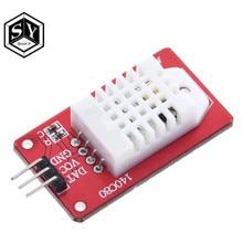 1 pces great it alta precisão am2302 dht22 digital temperatura & módulo sensor de umidade para arduino uno r3