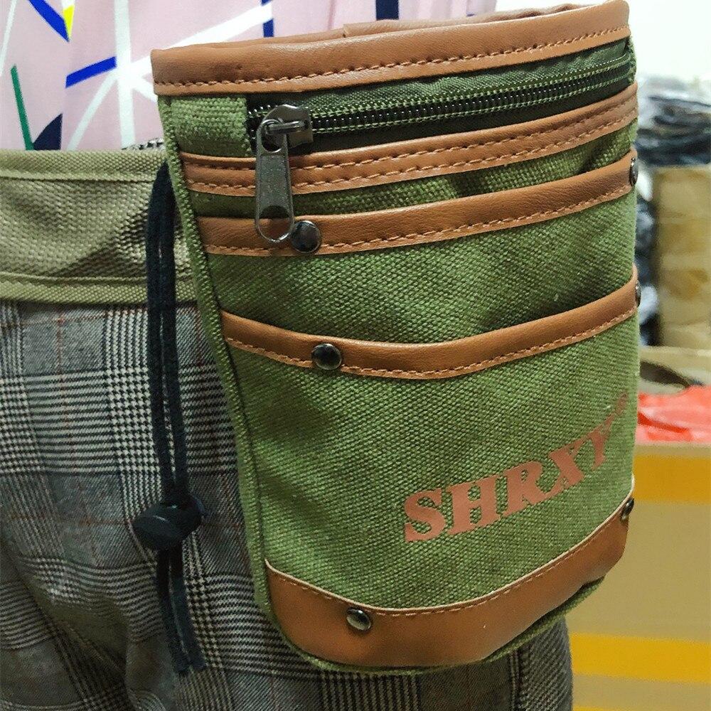 Metal Detector Drawstring Bag Digger's Pouch Finds Bag Belt Pocket Tool Bag For Metal Detecting