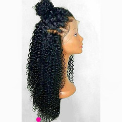 Kinky Curly 360 Human Hair Wigs 370 Lace Frontal Wig With Baby Hair 13x6 Lace Front Human Hair Wigs Soft No Tangles