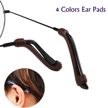 Anti Slip Ear Hook Kacamata Eyewear Aksesoris Kacamata Silikon Pegangan Candi Tip Holder Tontonan Kacamata Grip(China)