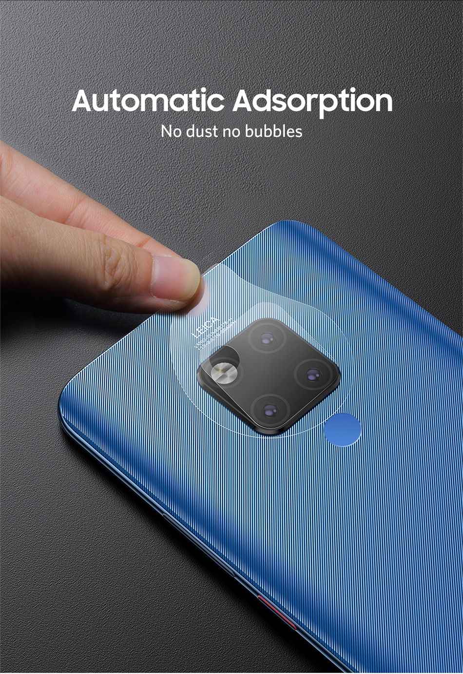 Benks 2PC KR Tempered Glass Back Camera Lens For Huawei Mate 20 Pro 20X Cover Screen Protector 0.15mm Ultra-thin Protective Film (9)