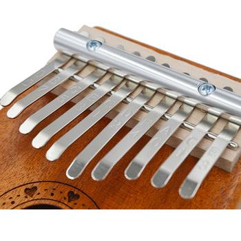 1 zestaw części 10 stalowy klucz do kciuka fortepian 10 tonów instrumenty klawiszowe części i akcesoria tanie i dobre opinie CN (pochodzenie) Manganese steel nickel plated
