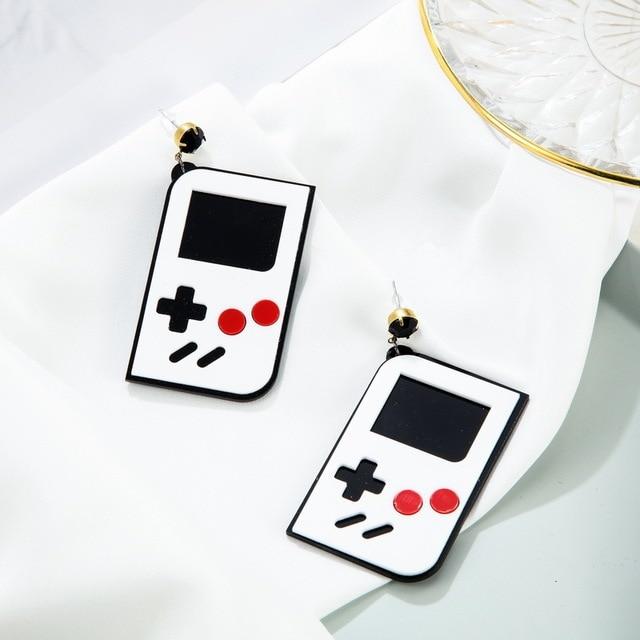 Game Machine Earrings