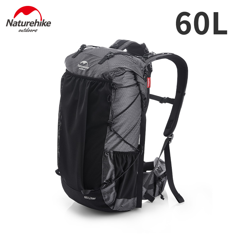 Naturehike Outdoor Bag 60L Waterproof Climbing Backpack High Capacity Sports Bag Men/Women Ultralight Hiking Travel Backpack