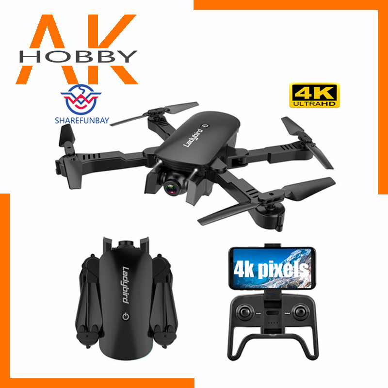 R8 drone 4K HD Aerial FPV Camera Quadcopter Optical Flow Hover Smart Follow Dual Camera Remote Control Helicopter Drone Toys
