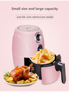 Air fryer home automatic oil-free sixth-generation large-capacity intelligent electric fryer air frying pan new special price large capacity intelligent oil smoke free fries machine automatic electric frying pan 220v 3l