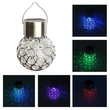 Led Solar Lamps Ball Waterproof Colorful Fairy Outdoor Light Garden Christmas Party Decoration Hanging Lights
