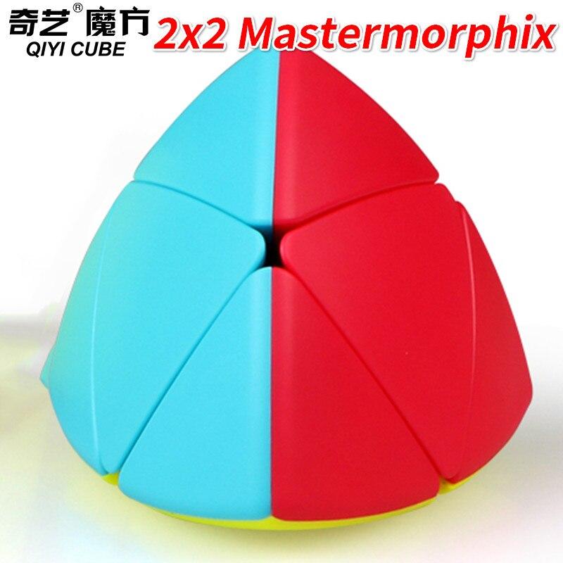 Qiyi Mastermorphix 3x3 Or Mastermorphix 2x2 Cube Stickerless Rice Dumpling Magic Cube Speed Cube Toys For Children Kids