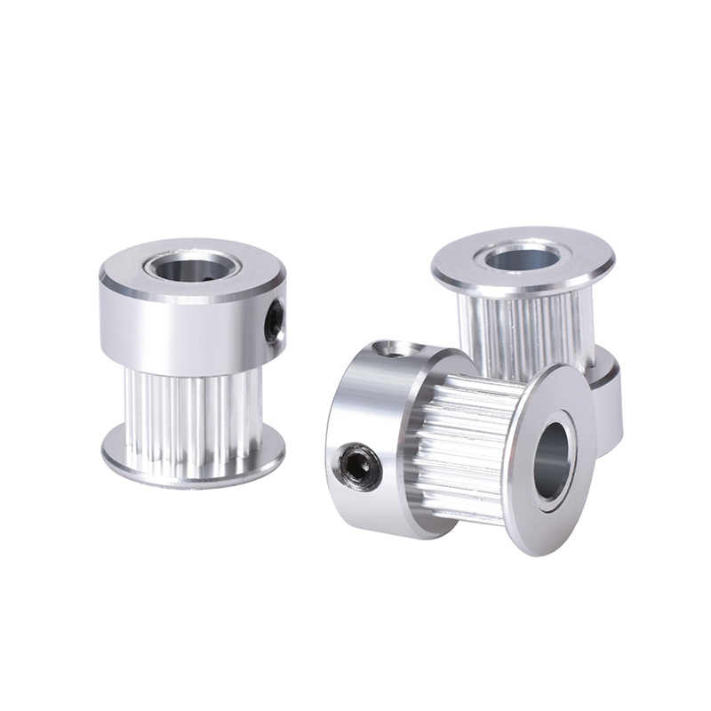 Części do drukarek 3D GT2 koło rozrządu 16 zębów 2GT 20 zębów aluminium otwór 5mm 8mm koła synchroniczne część przekładni dla szerokości 6mm 10mm