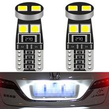 2X T10 LED W5W Canbus No Error Bulb Car Interior Lights for Kia Rio 2 3 4 Ceed Cerato K3 K4 K5 Mazda 3 5 6 GH CX-5 6000k 12V