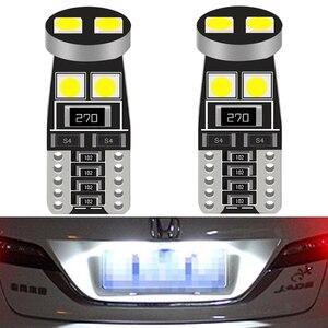 2X T10 LED W5W Canbus No error Bulb Car Interior Lights for Kia Rio 2 3 4 Ceed Cerato K3 K4 K5 Mazda 3 5 6 GH CX-5 CX5 CX3 CX-7(China)
