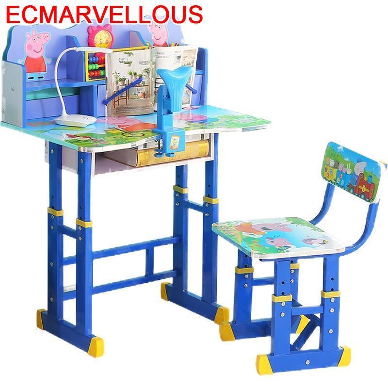 De Estudio Avec Chaise Kindertisch Baby Children Play Child Adjustable Kinder Bureau Enfant Mesa Infantil Kids Study Table